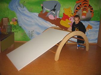 Kinderzimmer zum spielen gut - Klettern im kinderzimmer ...